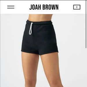 Joah Brown Fitted Sweat Short